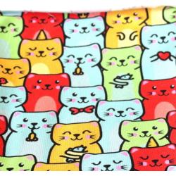 Pajac dresowy w koty